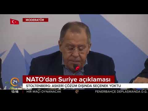 NATO'dan Suriye açıklaması: Askeri çözüm dışında seçenek yoktu