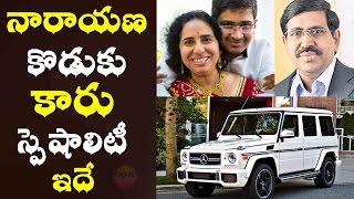 నారాయణ కొడుకు డ్రైవ్ చేసిన కారు స్పెషాలిటిస్ Narayana Son Nishith Car Details Mercedes AMG G63