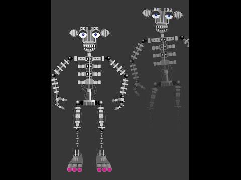 building an endoskeleton on minecraft!