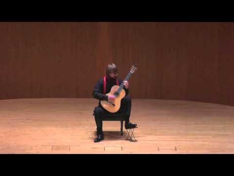 """Ed Burke- Capriccio Diabolico """"Omaggio a Paganini"""", op. 85 (1935) by Mario Castelnuovo-Tedesco"""