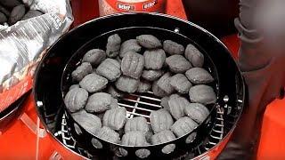 minion method how to arrange your briquettes in a weber smokey mountain wsm
