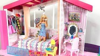 Barbie Dream House Morning Routine! New Barbie Dream House Adventures!
