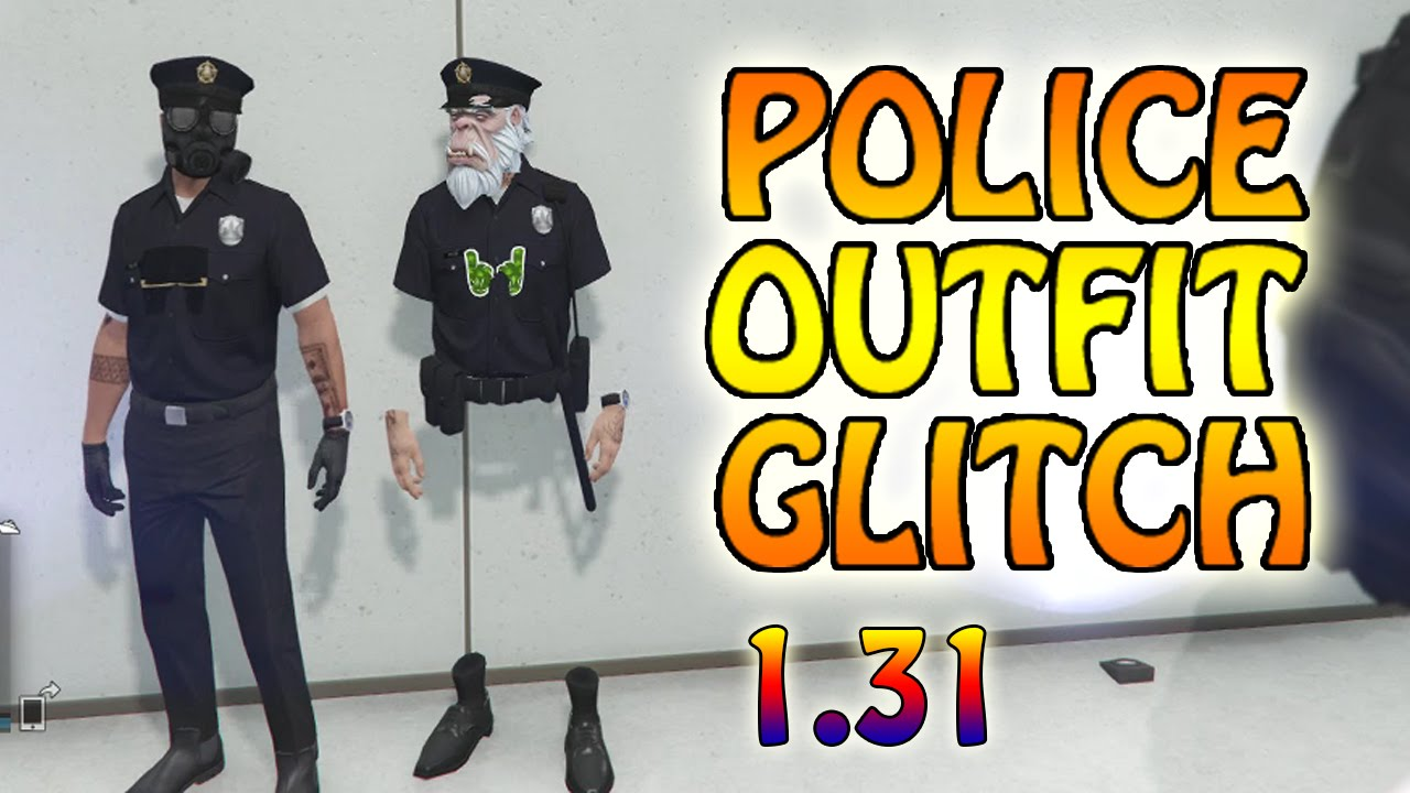 GTA 5 Online *NEW* Police Outfit And Trash Man Outfit Glitch 1.31 (GTA 5 Glitches) - YouTube