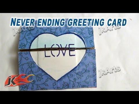 Never Ending Card/Endless Card Tutorial | JK Arts 263