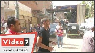 بالفيديو.. القلق يسيطر على رمضان صبحى أثناء دخوله لجنة امتحان الثانوية