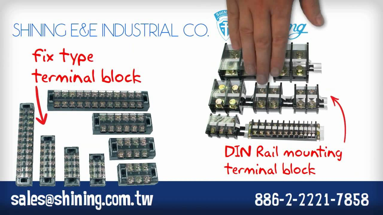 Terminal Block The Best Manufacturer Youtube Relays Weidmuller