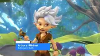 Arthur e il popolo dei minimei  - Trailer del cartone animato