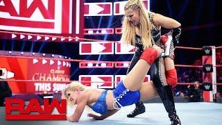 Natalya vs. Lacey Evans: Raw, Sept. 9, 2019 thumbnail
