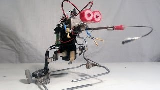 Smart Homemade Walking Robot