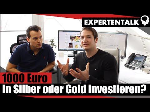 1000 Euro In Silber Oder Gold Investieren