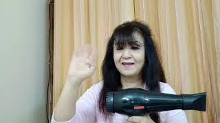 V amp G PROFESSIONAL HAIR DRYER REVIEW DEMO