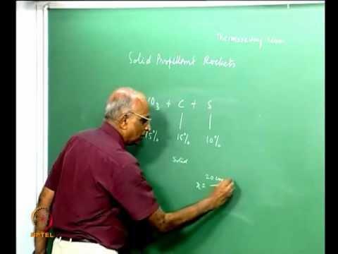NPTEL :: Mechanical Engineering - Rocket Propulsion