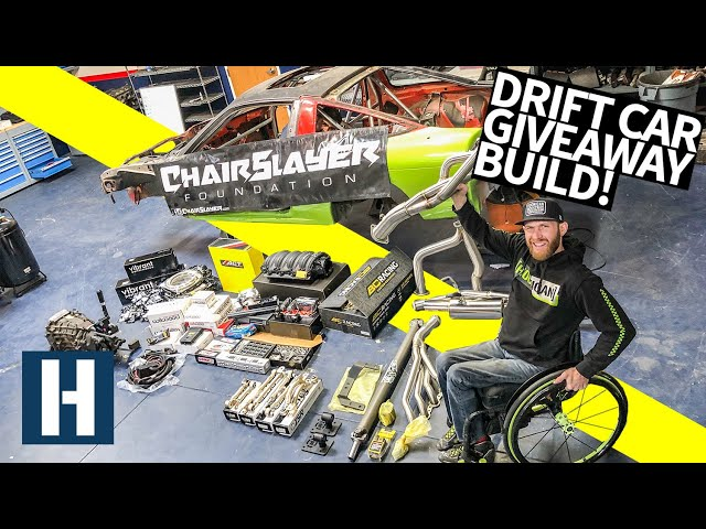 Chairslayer is Giving Away a Fully Built, Hand Controlled Drift car for Charity!