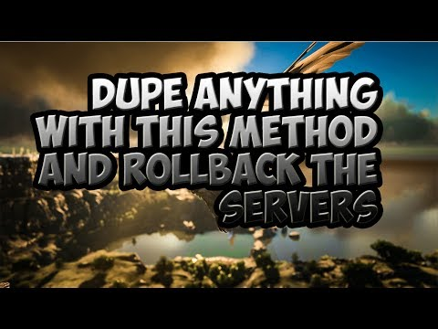 ARK How to Dupe Anything with this Method | So simple yet not banned | ARK survival evolved