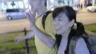 台風の中であっても、羽田から1時間遅れで池田有希子さんがかけつけて...