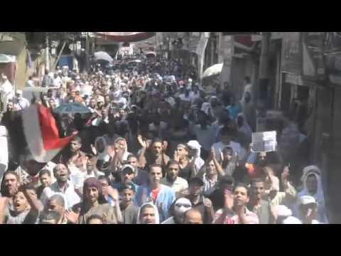 Minye'de Mısır halkı darbeye karşı yürüdü 282013