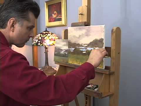 LANDSCAPE OIL PAINTING VIDEOS AND DVDS