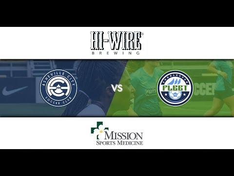 Asheville City Soccer Club Vs The Charleston Fleet