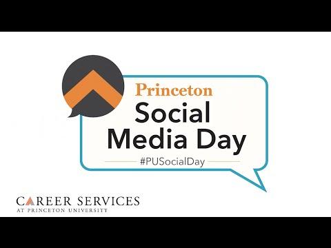 Social Media Day at Princeton