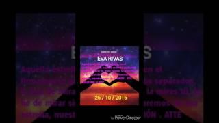 Te busco Eva Rivas. Perú 2016
