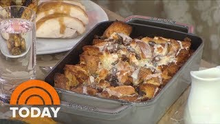 Thanksgiving Recipes Slow Cooker Mashed Potatoes, Turkey Gravy And Pantry Bread Pudding TODAY