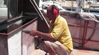 How To Removing Rust And Paint On Boats And Yachts