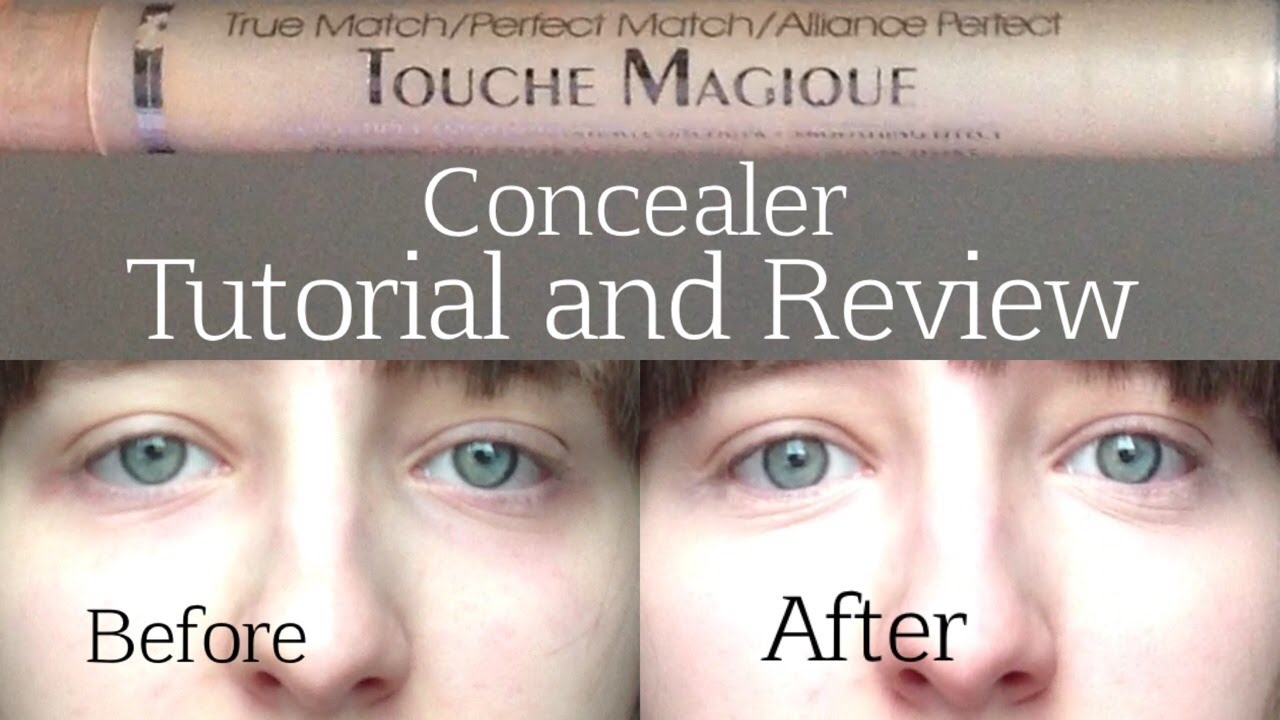 L'Oreal True Match Touche Magique Concealer | Tutorial and Review ...