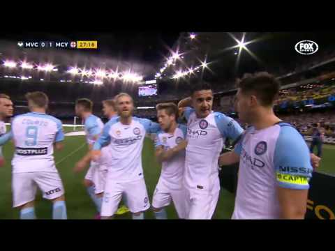 Tim Cahill screamer vs Melbourne Victory | A-LEAGUE 16/17