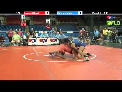 Cadet WM 124  Lauren Gilbert Texas vs. Daishea Jaime California