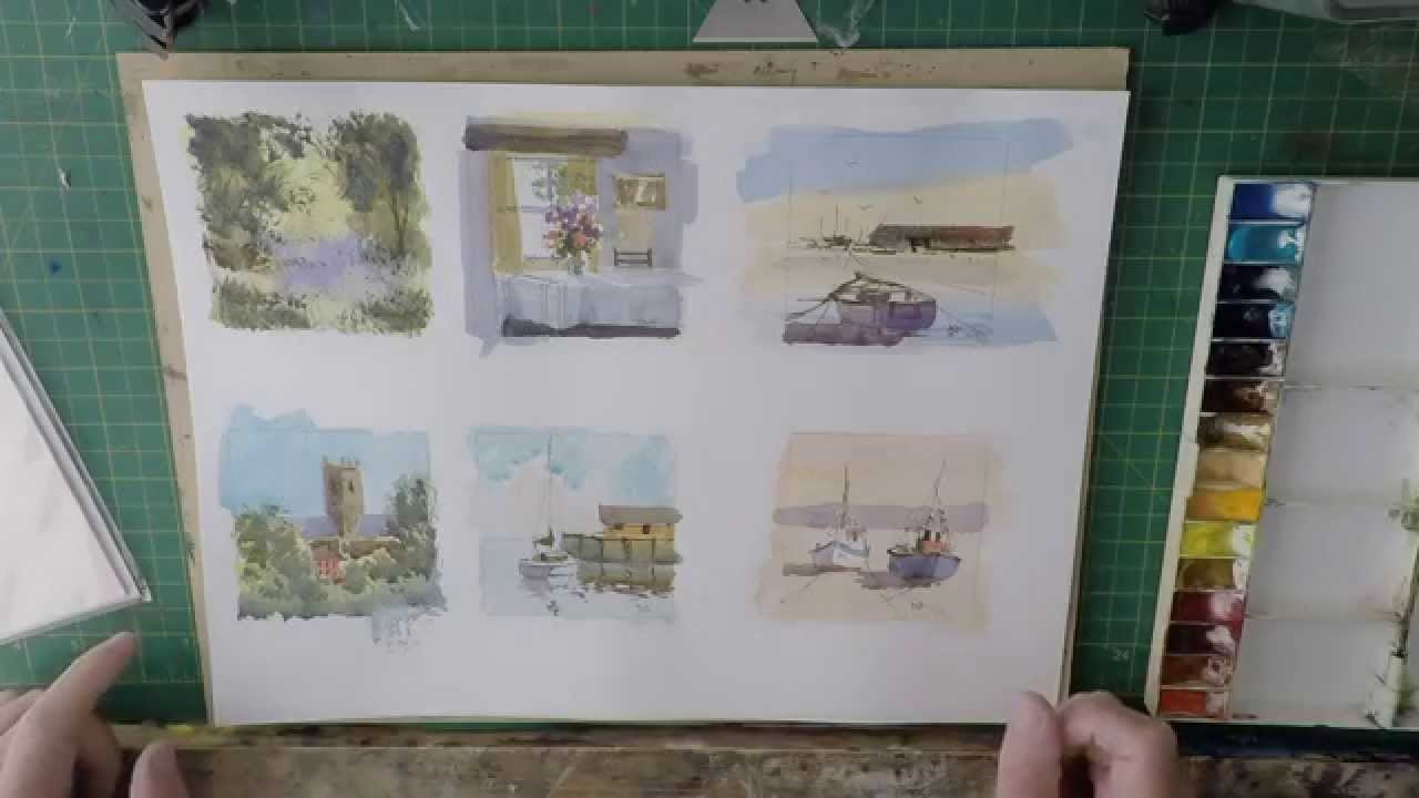 How I Paint Watercolour Greetings Cards To Sell You Try