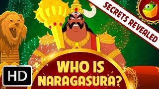 Wer ist Narakasura?   Geschichte des Diwali-Indische Mythologische Geschichten   Englisch Märchen für Kinder
