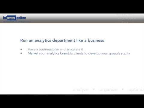 Procter & Gamble: Success Factors in Analytics