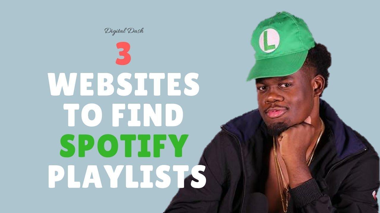 3 Sites forMusic Playlists foto