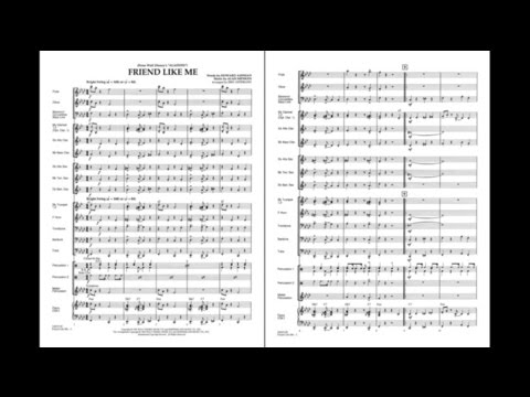 Friend Like Me (from Aladdin) arranged by Eric Osterling