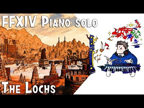 Final Fantasy XIV : Stormblood - The Lochs (기라바니아 호반지대) for piano solo (Arr by Terry:D)