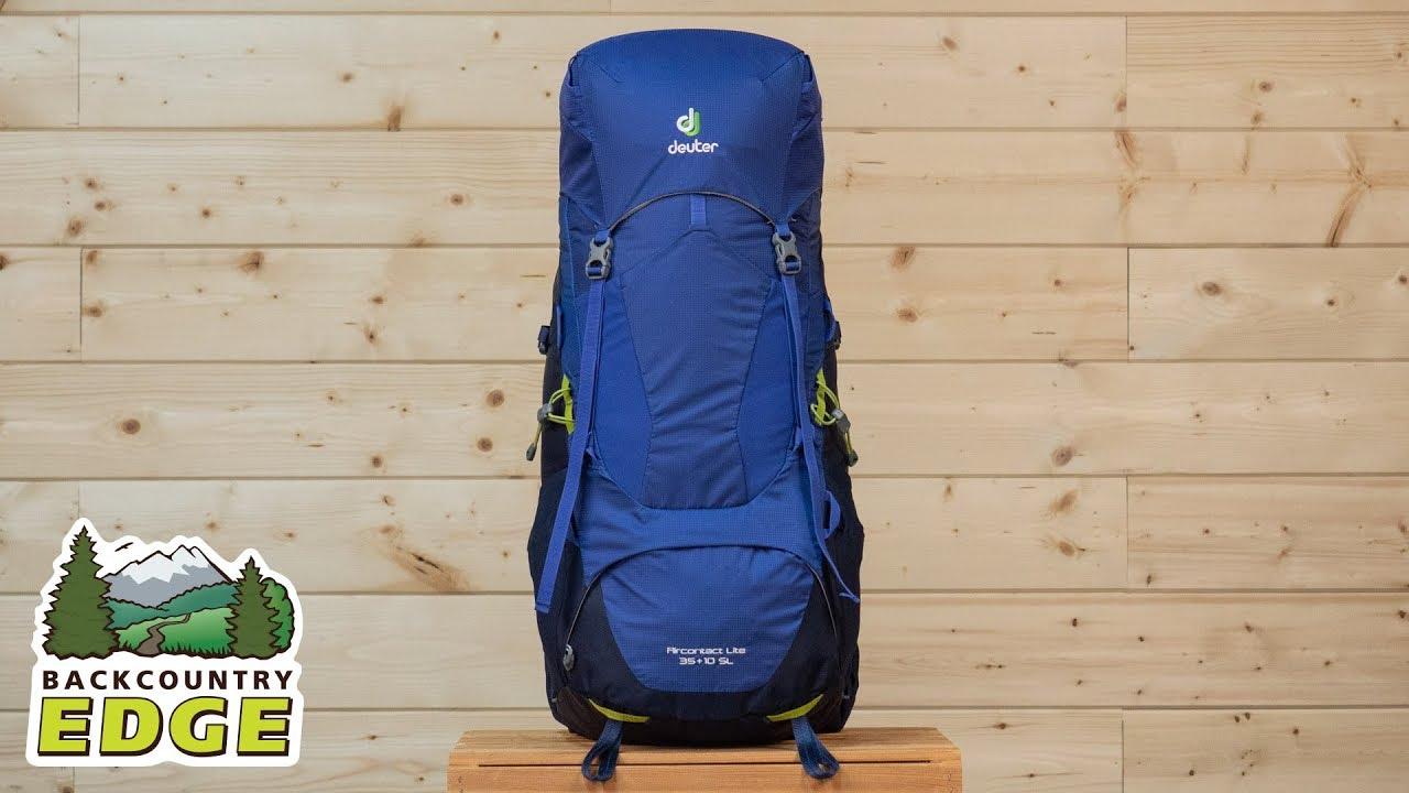 das billigste klar und unverwechselbar herren Deuter Aircontact Lite 35 + 10 SL Women's Internal Frame Backpack