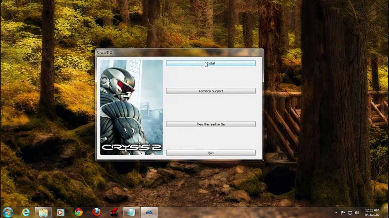 How To Install Crysis 2 On Pc Hd Youtube