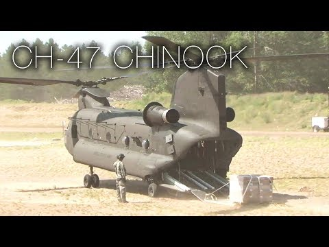 One Of The Most Versatile Aircraft Ever Built: CH-47 Chinook Helicopter