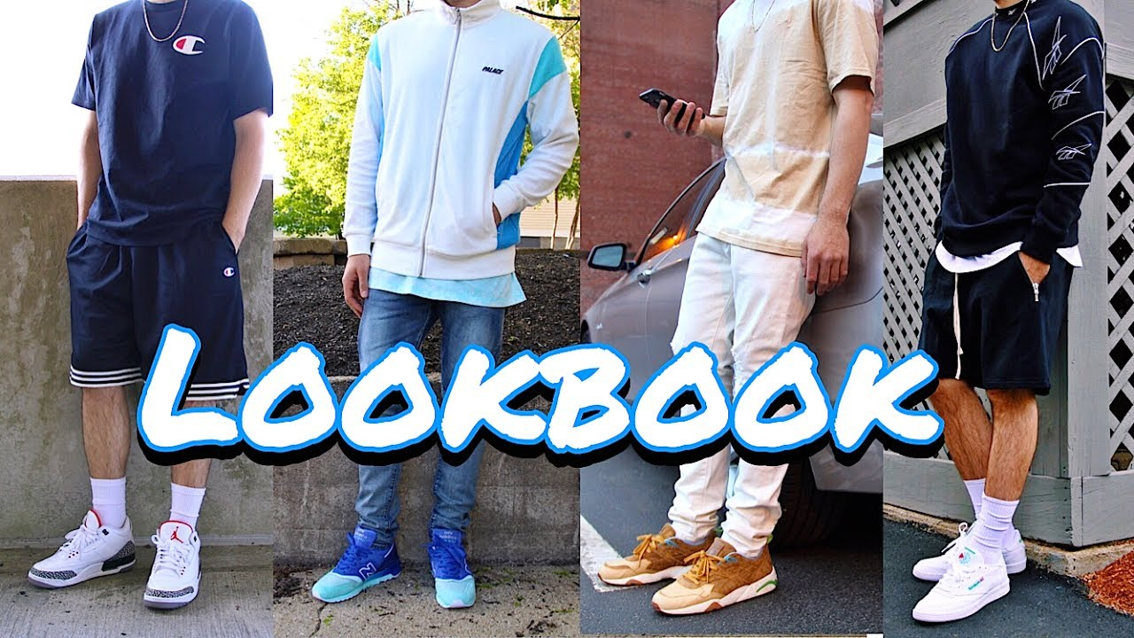 c68892bf7640 SNEAKERHEAD LOOKBOOK! - ADIDAS - YEEZY - PALACE - CHAMPION - STUSSY - AIR  JORDAN 4 PURE MONEY REEBOK