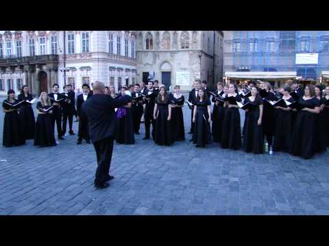 Choir in Prague's Old Town Square