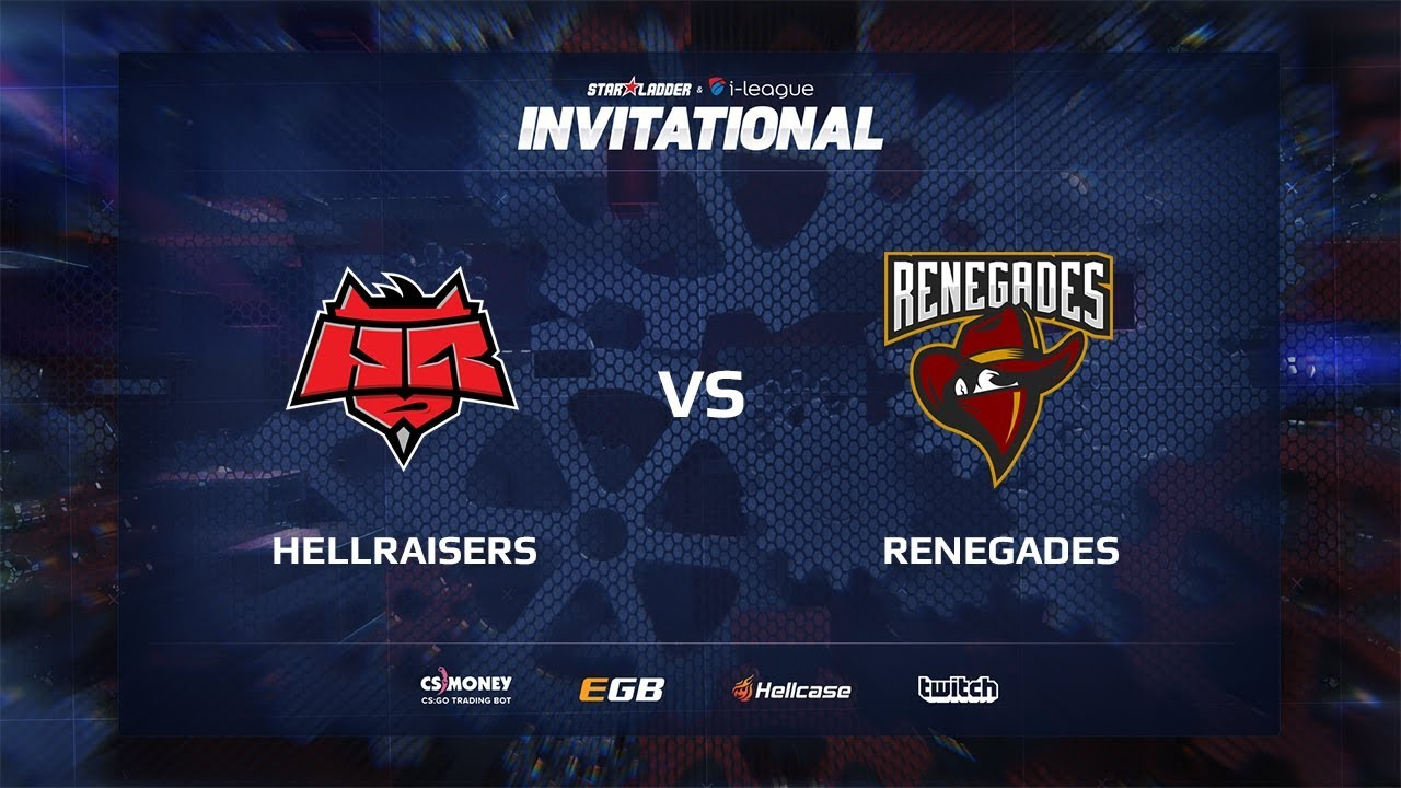 [EN] HellRaisers vs Renegades, map 1 cobblestone, SL i-League Invitational Shanghai 2017