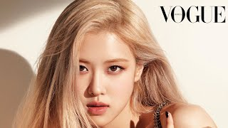 voguekorea Rose(blackpink)