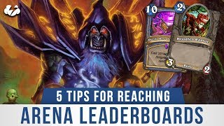 REACHING THE ARENA LEADERBOARD! | Tempo Storm Hearthstone [Saviors of Uldum]