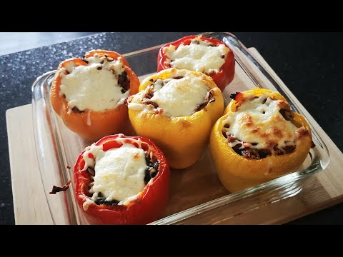 turkey-stuffed-peppers-|-recipe-video