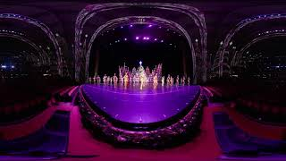 360 Video: Finale of the 2018 Christmas Spectacular Starring the Radio City Rockettes