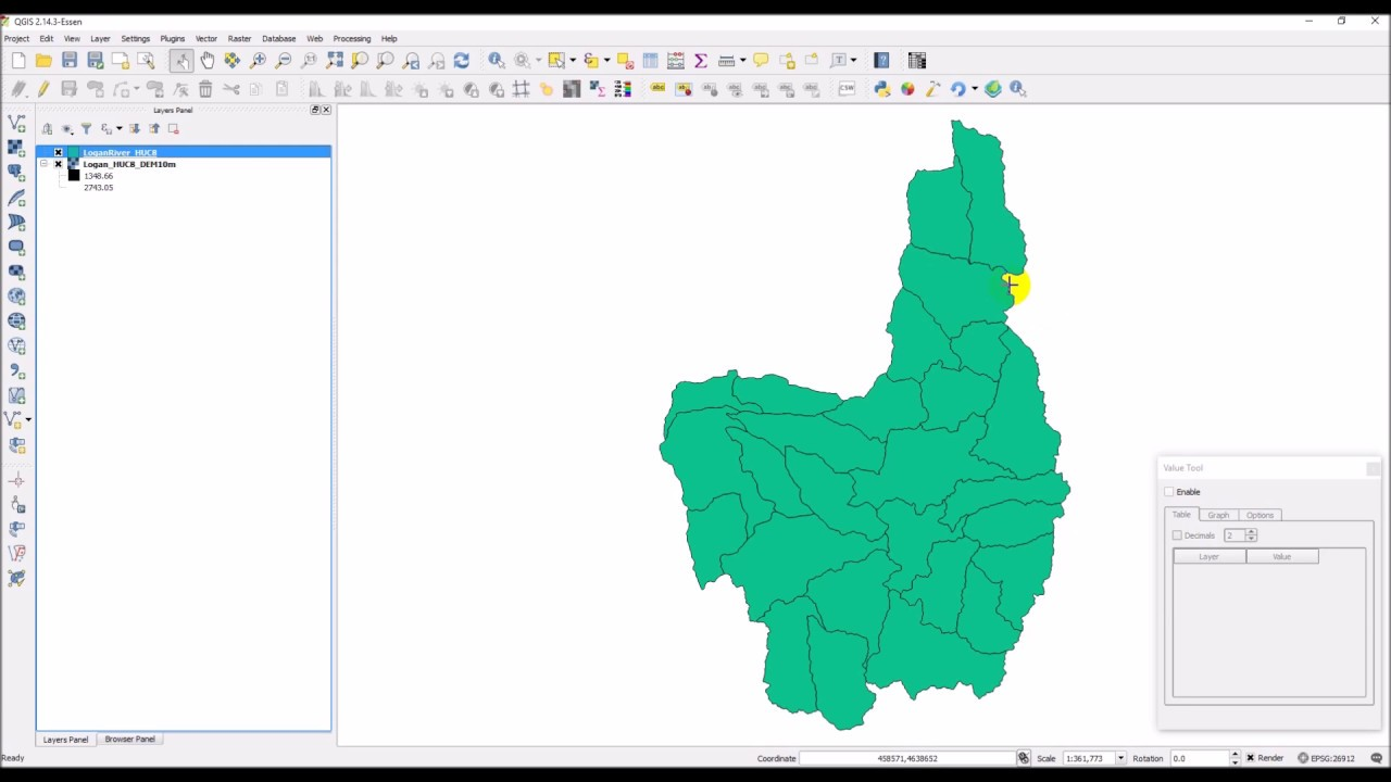 QGIS Python 05 Clip Raster with a Multi-feature Shapefile