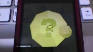 はじめての腰かける巫女。GREEのソーシャルゲーム。探検ドリランドでの1シーン。