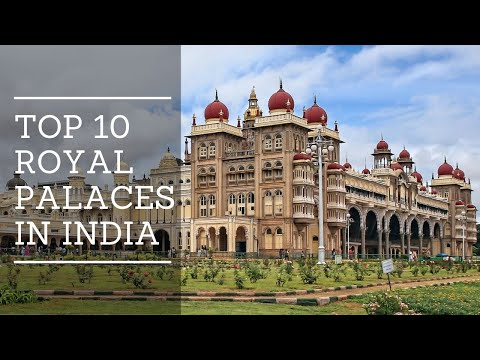 Top 10 ROYAL PALACES in India | HD