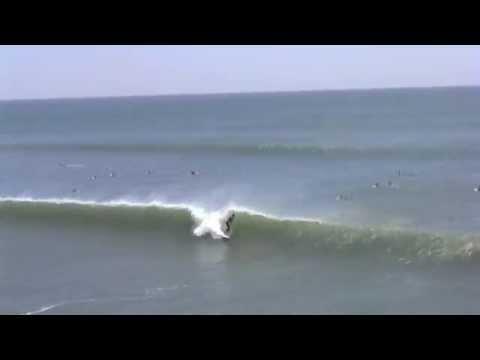 Surfing Huntington Beach Pier OFFSHORE WEDNESDAY