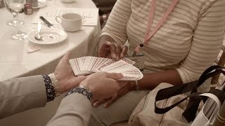 CARD TO MOUTH Magic Trick - PERFORMANCE